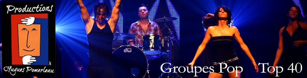 Groupes Pop - Top 40 - Cover band
