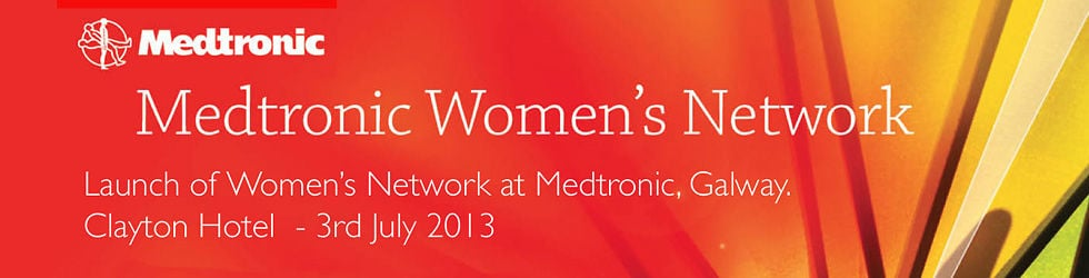 Medtronic Women's Network - Galway Launch.