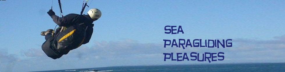 Sea paragliding pleasures - Parapente en bord de mer