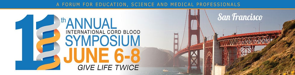 2013 International Cord Blood Symposium