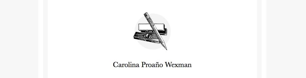 Carolina Proaño Wexman