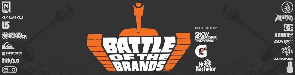 Snowboarder Magazine's Battle Of The Brands 2013