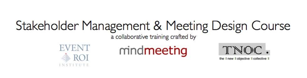 Stakeholder Management & Meeting Design