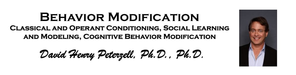 Behavior Modification (See UCSD Podcast link)
