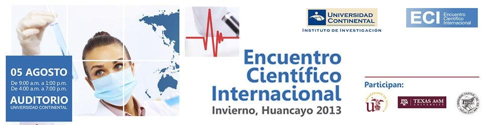 Encuentro Científico Internacional 2013