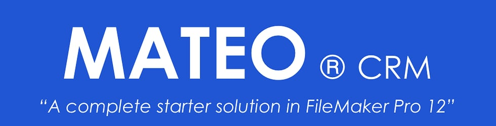 Mateo ® CMR FileMaker Pro 12