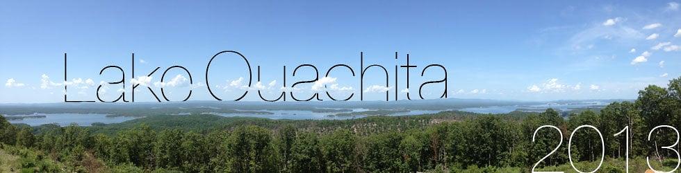 Lake Ouachita 2013