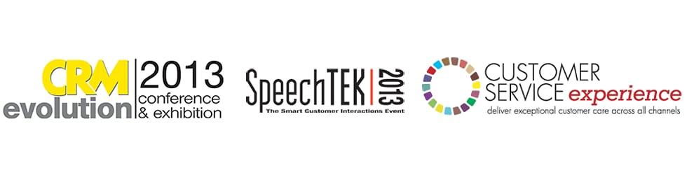 CRM Evolution, SpeechTek, and Customer Service Experience 2013