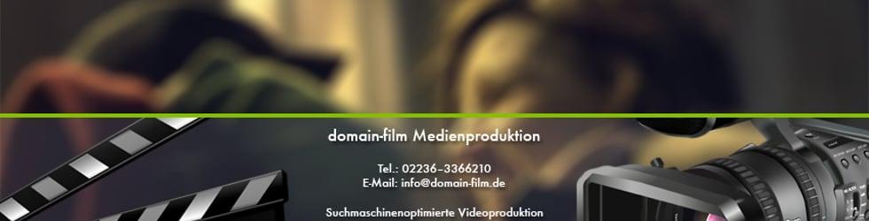 Filmproduktion Videoproduktion von www.domain-film.de