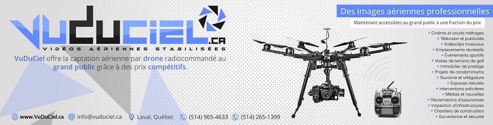 VuDuCiel.ca - Service de location de drones aériens