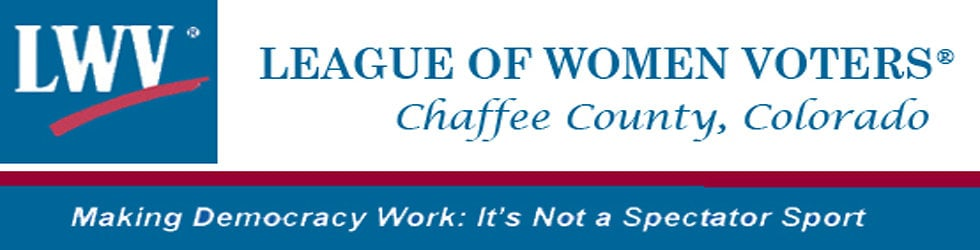 Chaffee County, Colorado League of Women Voters