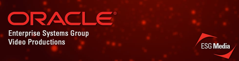 Oracle ESG Media Video Productions
