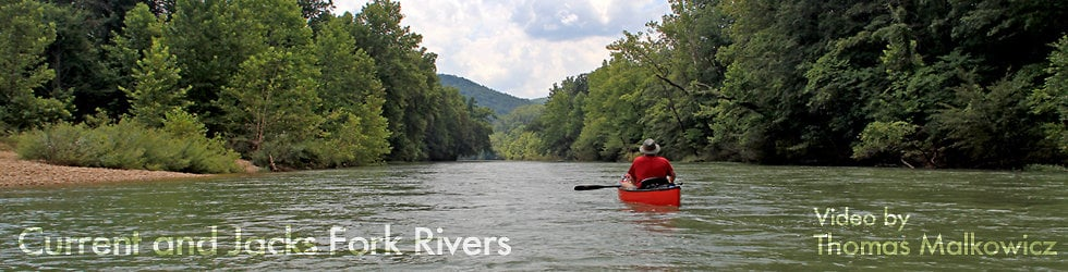 Current and Jacks Fork Rivers