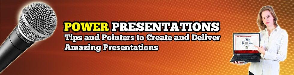 Power Presentations -  PowerPoint Design & Training + Presentation Skills Coaching