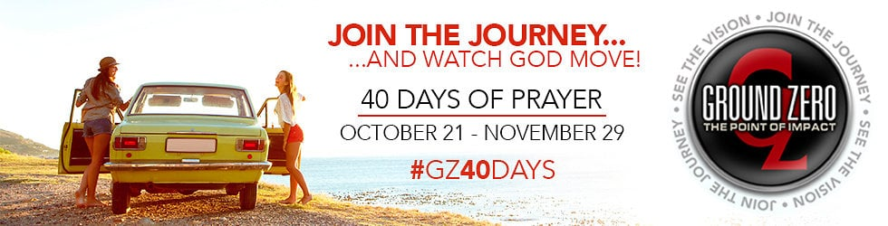 See the Vision. Join the Journey. 40 Days of Prayer