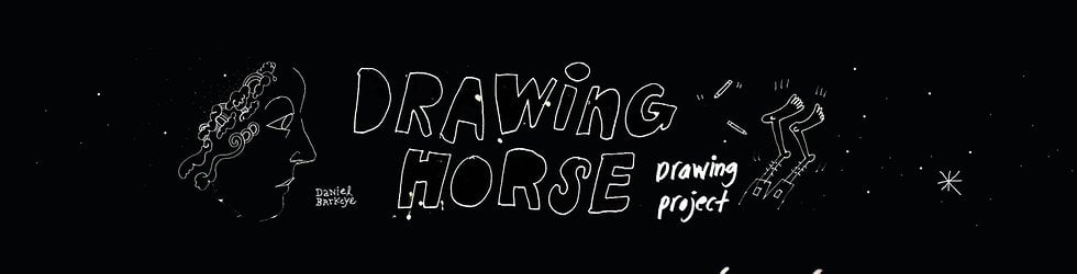 drawing horse project