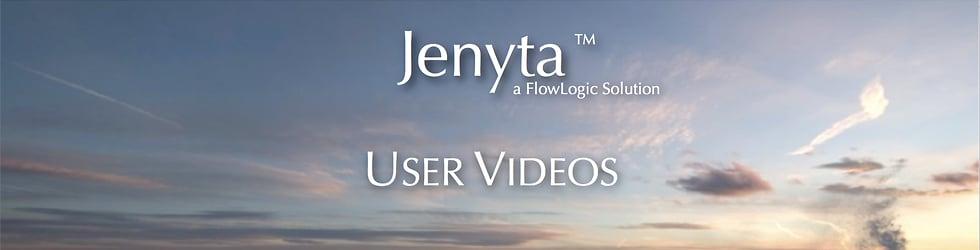 Jenyta User Training Videos
