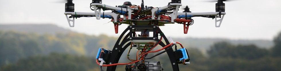 Hexacopter und Heli-Videos
