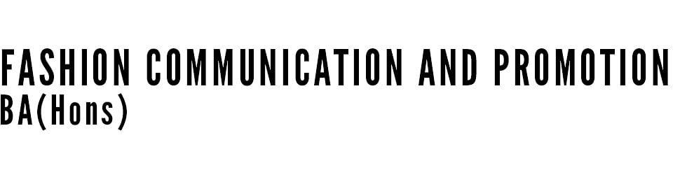 Fashion Communication and Promotion