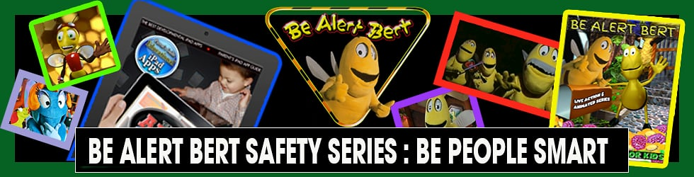 Be Alert Bert Live Action & Animated Series