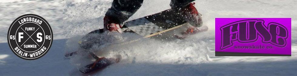 Winter Longboarding