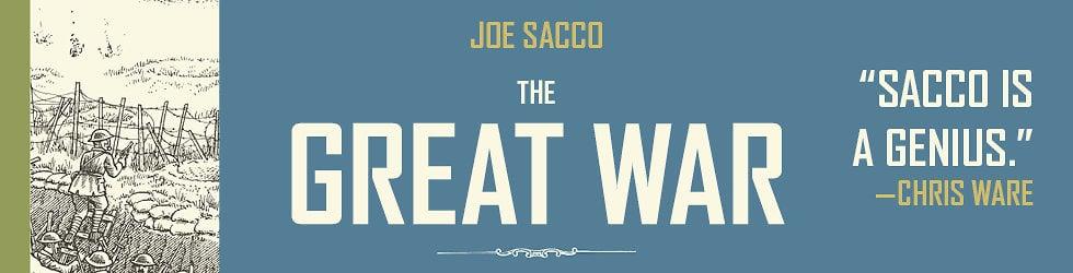 Joe Sacco's THE GREAT WAR