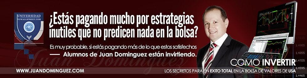 Testimonio reales que estan utilizando la estrategias de inversion del Sr. Juan Dominguez