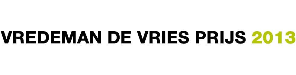 VREDEMAN DE VRIESPRIJS 2013