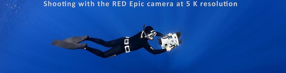 underwater at 5K & 6K resolution