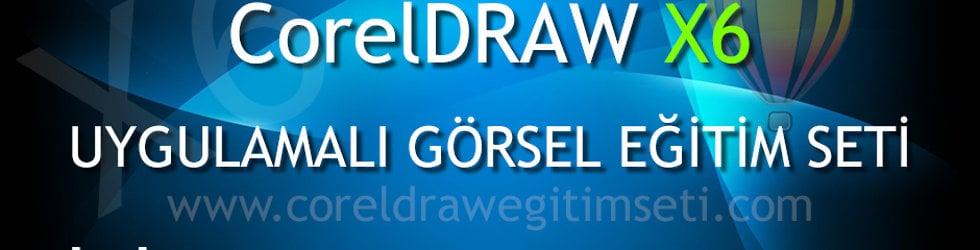 Corel Draw X6 Eğitim Seti