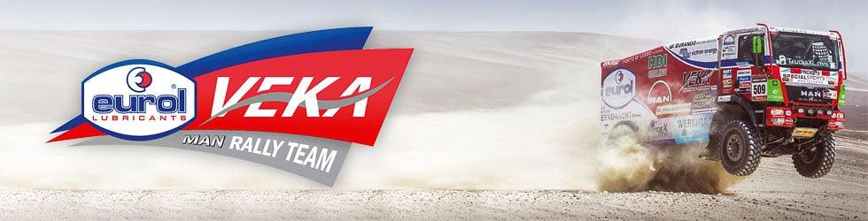 Dakar Rally 2014 - Eurol VEKA MAN Rally Team
