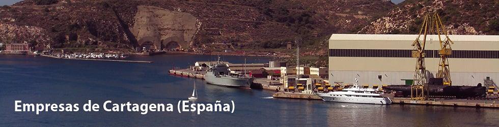 Empresas de la comarca de Cartagena (España)