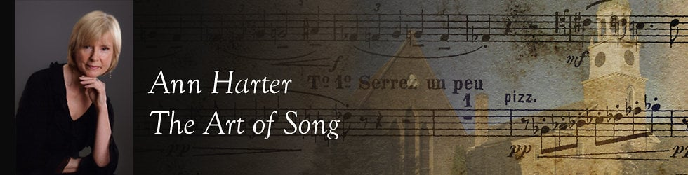 Ann Harter: The Art of Song
