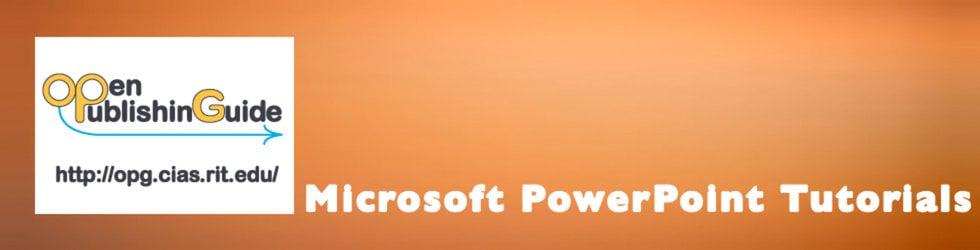 Microsoft PowerPoint Template Video Tutorials