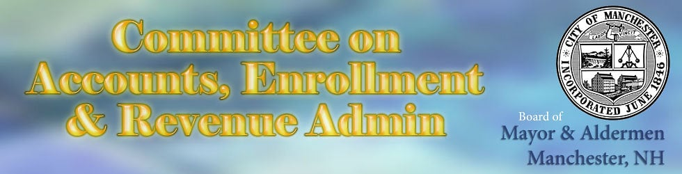 Committee on Accounts Enrollment and Revenue Administration