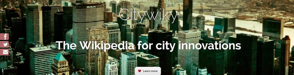 Technology and Innovation for cities - Citywiky.com