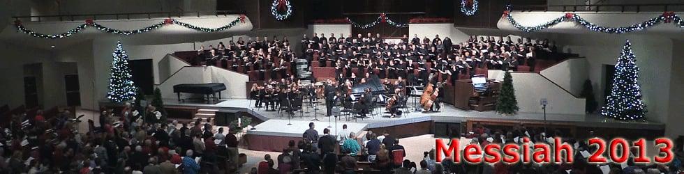 Christmas 2013 - Handel's Messiah Sing Along