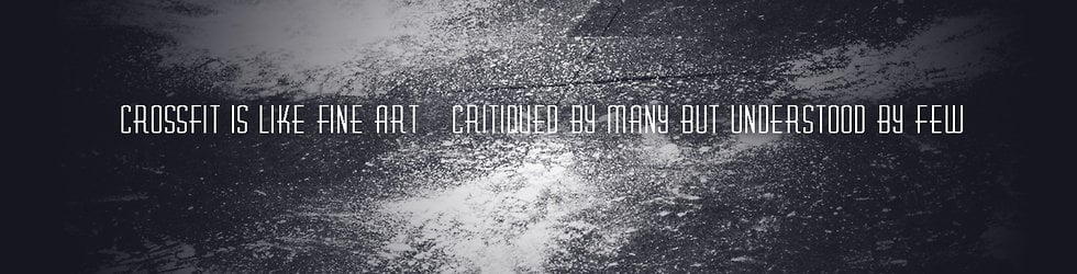 FEEL CROSSFIT. #TRAININGFORLIFE