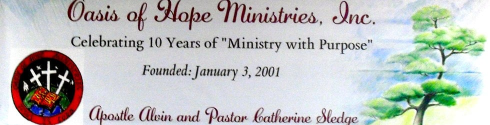 Oasis of Hope Ministries