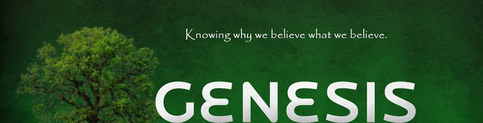 Bible Study Series- The Book of Genesis