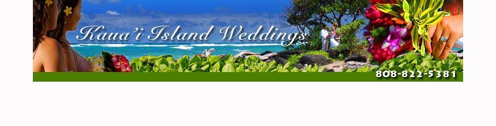 Kauai Island Weddings