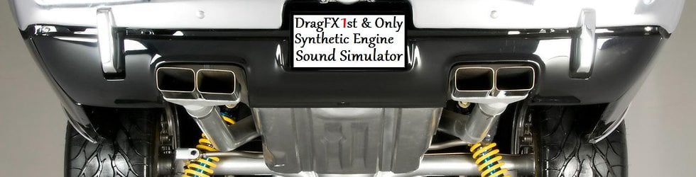 Big Block Entertainment Synthetic Supercharger Turbo Muscle Car Engine Sound Simulator DragFX Apple Android