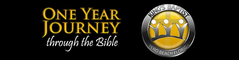 One Year Journey Through The Bible
