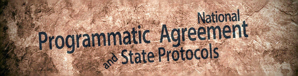 BLM's National Programmatic Agreement & State Protocols