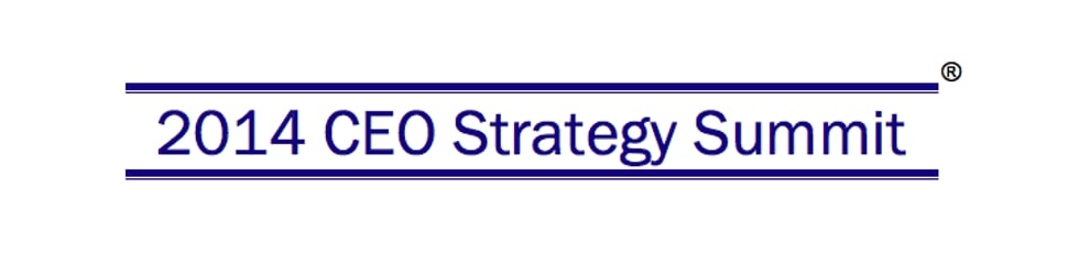 2014 CEO Strategy Summit
