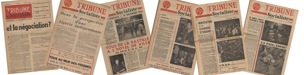 PSU et guerre d'Algérie, témoignages de militants