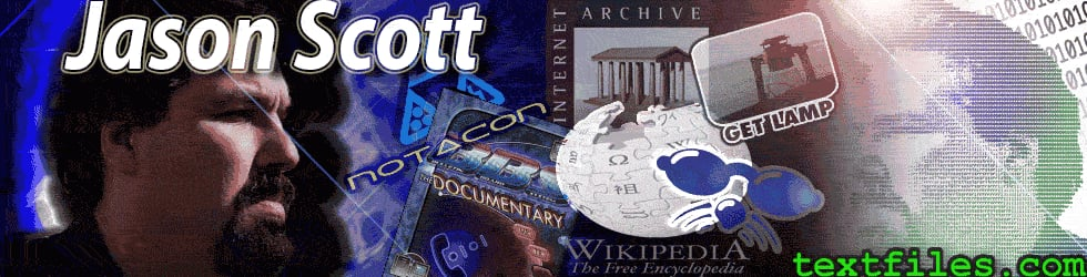 Jason Scott - Archive Team Member & Internet Activist - Videos of Speeches and Presentations