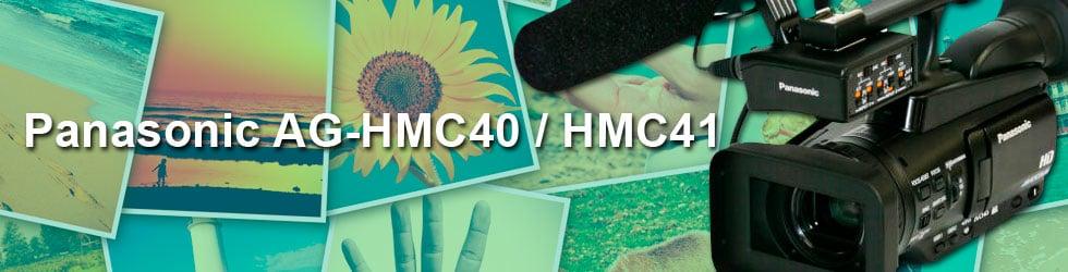 PANASONIC AG-HMC40 / HMC41