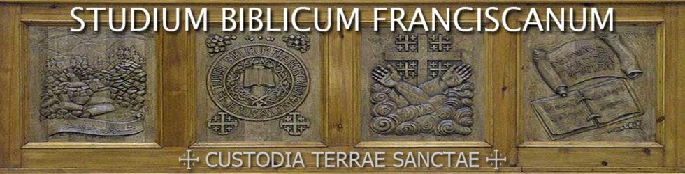 Custodia Terrae Sanctae: Studium Biblicum Franciscanum
