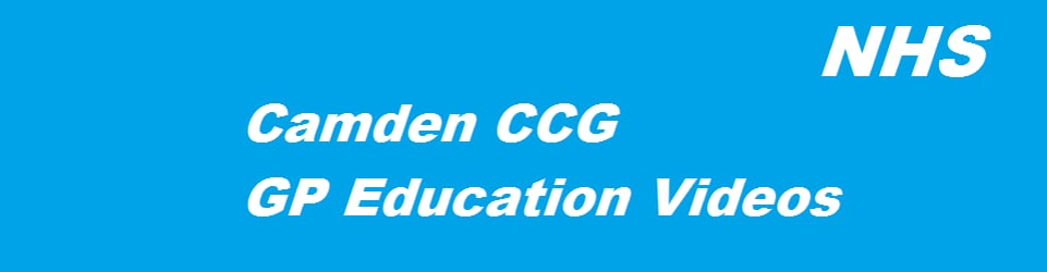 Camden CCG Education Videos